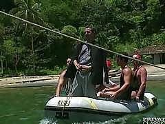 Anal Orgy in a Boat with the Brazilian '_Garotas'_