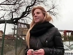 Sell for succeed in Pickups - Amateur Euro Slut Suck Dick For Cash Outdoor 10