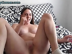 Fucking Mega Dildo Anal Oral Together with Vaginal