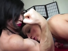 FBB womanlike armwrestling