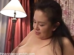 Pinay MILF moans after fingered by son - watch just about on Pinayvideoscandals.com