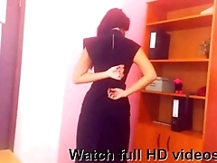 Hot Indian girl showing her pink nipples hotcambitches.com