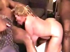 83-chubby blonde slut gangbanged by bbc