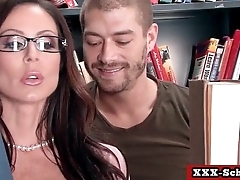 Big tits teacher fucked at school 20