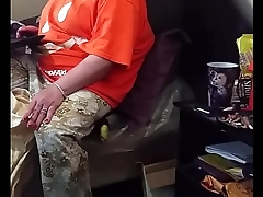 My stepmom acting like she ain'_t looking at the dick