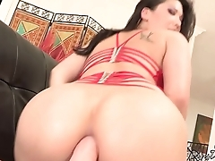 London Keyes is a Lesbian Slut for Huge Gaping Anal Toys