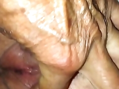 65 Year-Old Pussy Closeup