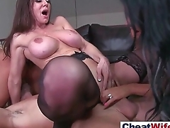 (kendra kissa peta) Naughty Housewife Love To Cheat On Camera video-20