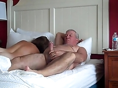 MILF - Hot wife fucking her husband
