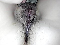 play with my sleeping wifes pussy