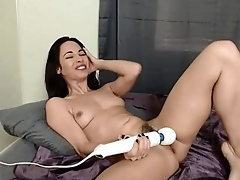 Lindsey Meadows loves role playing and fucks a shaved pussy