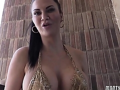 Jasmine Jae rimjob and hard deepthroat