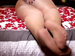 Karla Lane Footjob