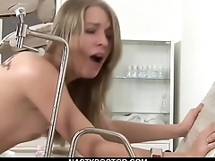 Petite Russian Teen Takes Her Medication