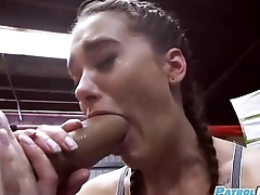 Gia Paige - Boxing Brunette Fucks In The Noise