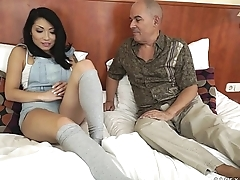 Step Dad wants to see his daughter'_s tattoo - Rina Ellis