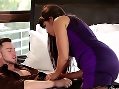 Gorgeous stepmom screwed from behind
