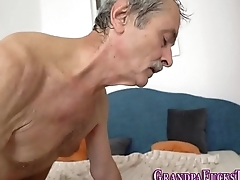 Teen gets pussy tasted